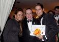 Os proprietários da rede com Chiquinho Scarpa, no Gran Prêmio Empreendedores do Mercosul.